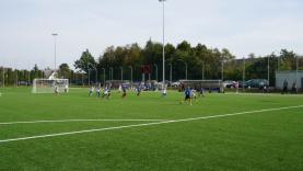 Kretingoje – pirmoji dirbtinės dangos futbolo aikštė