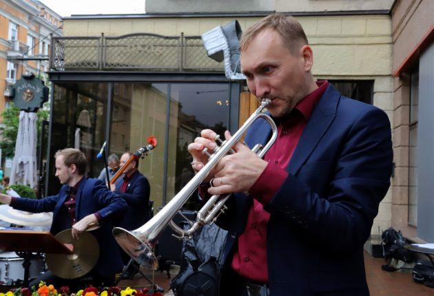 Fotografo Artūro Staponkaus užfiksuota ciklo koncertų akimirka