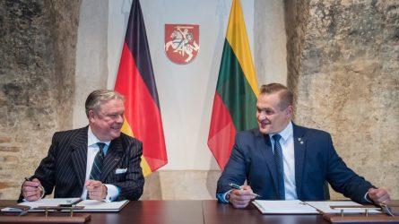 Vokietija Lietuvos kariuomenės infrastruktūrai skirs 500 tūkst. eurų