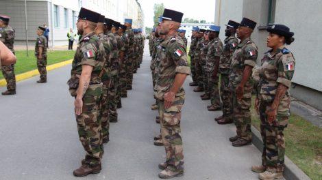 R. Karoblis aptarė regiono saugumo situaciją su Prancūzijos gynybos ministre F. Parly