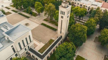 Atnaujinamas Karo muziejaus bokštas ir arkada remonto darbai