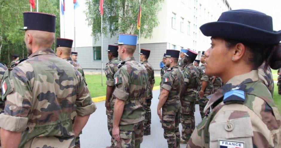 Susitiks Lietuvos krašto apsaugos ir Prancūzijos gynybos ministrai