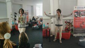 Bibliotekoje – kūrybinis skaitymo skatinimo užsiėmimas su aktore Kristina Savickyte