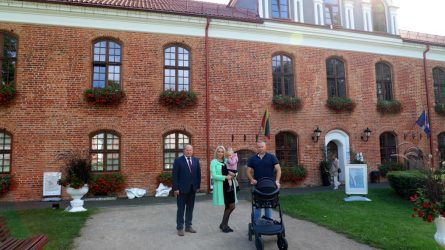 800-asis kūdikis Kauno rajone šįmet gimė Vandžiogaloje