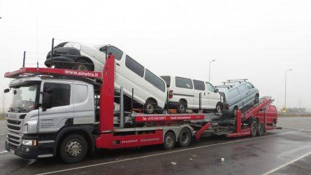 Saugus automobilių transportavimas