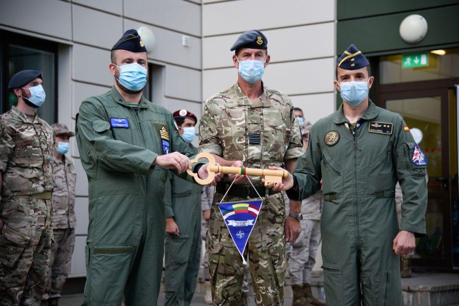 Nuo rugsėjo NATO oro policijos misijos Baltijos šalyse patruliuos Italijos ir Vokietijos naikintuvai