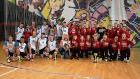 Jaunųjų Kauno rajono rankininkų triumfas Lietuvos čempionate