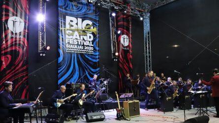 """11-asis tarptautinis festivalis """"Big Band Festival Šiauliai 2020"""" džiugino kokybiškos muzikos gerbėjus"""