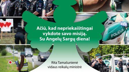 Profesinę šventę policija pasitinka dar labiau pasirengusi padėti visuomenei