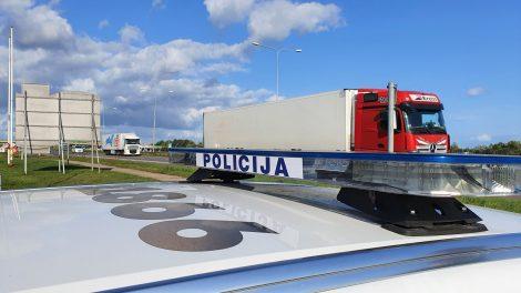 Šįryt kelių policijos skyriaus pareigūnai vykdė policinę priemonę neblaiviems vairuotojams išaiškinti