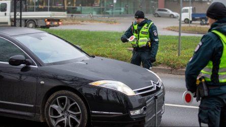 Klaipėdos kelių policijos pareigūnai vėl fiksavo neblaivius vairuotojus ir dviratininkus