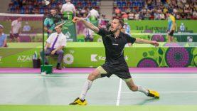Badmintonininkų galvosūkis – žaidėjų meistriškumas