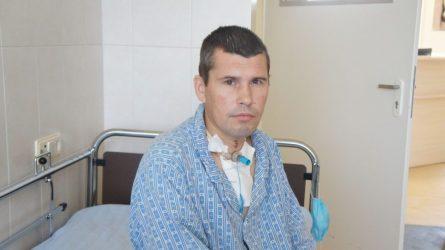 SĖKMĖS ISTORIJA. Šiauliečio gyvybė išgelbėta retai atliekama procedūra konikotomija