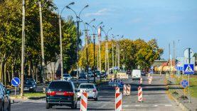 Panevėžys atsinaujina! Mieste intensyviai vykdomi gatvių remonto darbai