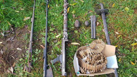 Sulaikytas Radviliškio rajono gyventojas įtariamas neteisėtai disponavęs šaudmenimis