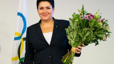 LTOK prezidente perrinkta olimpinė čempionė Daina Gudzinevičiūtė