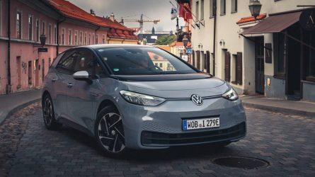 """Lietuvoje jau galima užsisakyti serijinį """"Volkswagen ID.3"""""""