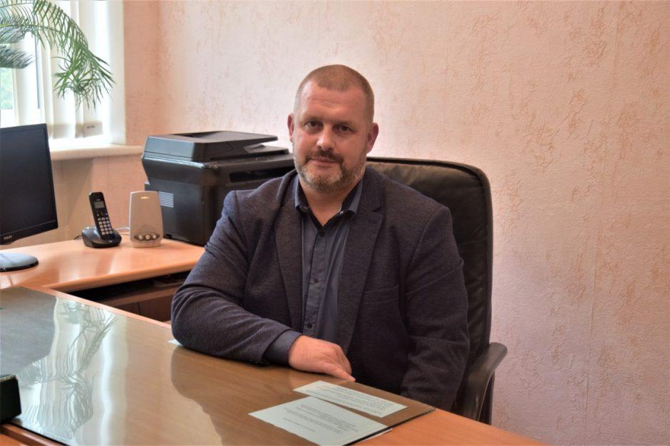 """Nuo 2020.10.13. VšĮ """"Vilkaviškio sporto ir pramogų centras"""" vadovaus Martynas Kasperaitis"""