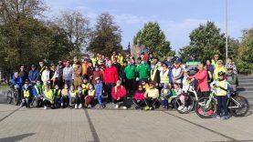 """Vilkaviškio miesto bendruomenė įgyvendino projektą """"Dviračių žygio """"Dviračiu į auksaspalvį rudenį – 2020"""" organizavimas"""""""
