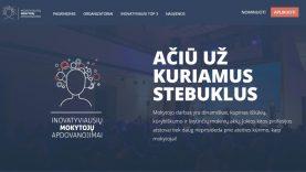 Kviečia nominuoti ir rinkti inovatyviausius Lietuvos mokytojus