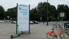 """Susisiekimo ministerijos ir """"Bolt"""" iniciatyva nuo šiol pagrindinėse sostinės gatvėse ribojamas elektrinių paspirtukų greitis"""