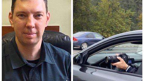 Už neleistiną mobiliojo telefono naudojimąsi vairuojant – bauda