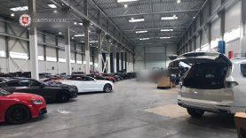 Sulaikyta didelė naudotų automobilių rinkoje nusikalstamai veikusi asmenų grupė (video)
