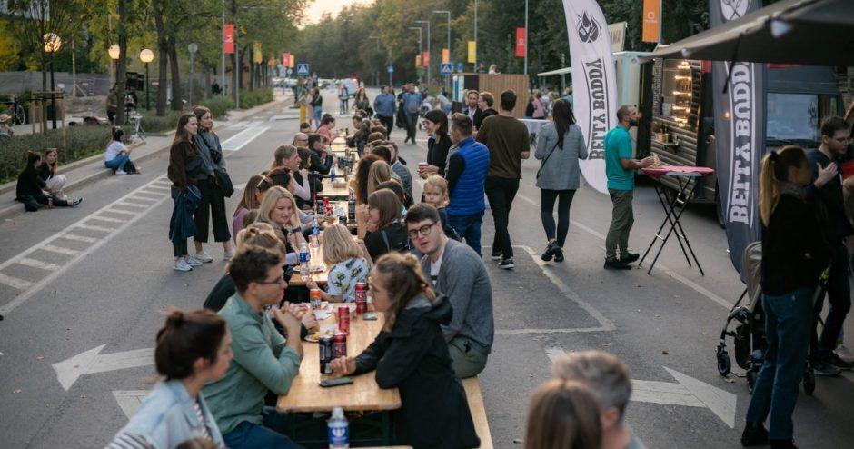 SostinėsNaugarduko gatvėje – dar viena bendruomenę telkianti iniciatyva