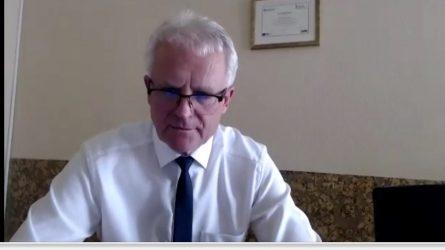 Šiaulių miesto savivaldybės spaudos konferencijoje - koronaviruso aktualijų aptarimas