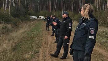 Pareigūnų profesionalumo dėka, miške dingęs vyras buvo rastas sveikas ir gyvas