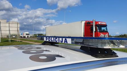 Per savaitę sulaikyti 22 neblaivūs vairuotojai