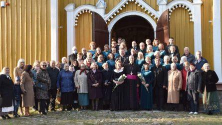 Marcinkonyse dvasingai švęsti tituliniai Simajudo atlaidai ir bažnyčios jubiliejai