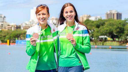Olimpinė medalininkė irkluotoja Donata Karalienė grįžta į didįjį sportą