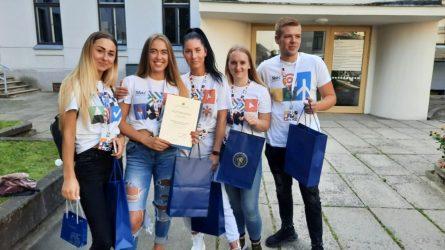 Kaune vykusių Skaidrumo orientacinių varžybų nugalėtojai – Socialinių mokslų kolegijos komanda