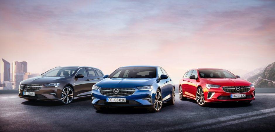 """Startuoja išankstiniai naujojo """"Opel Insignia"""" modelio užsakymai"""