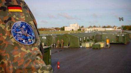 Šiauliuose dislokuotas Vokietijos valdymo ir pranešimų centras sustiprins Baltijos šalių oro erdvės valdymo stebėseną