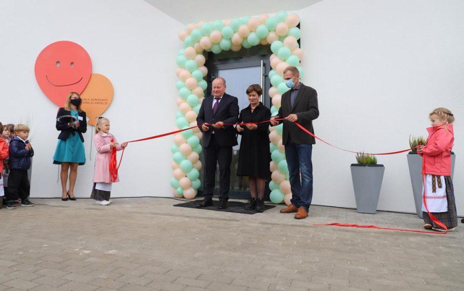 Domeikavoje atvėrė duris išskirtinės architektūros darželis