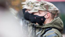 Tarnauti Lietuvos valstybei prisiekė rekordinis skaičius kariūnų