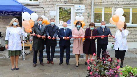 Atidaryta atnaujinta Karmėlavos ambulatorija