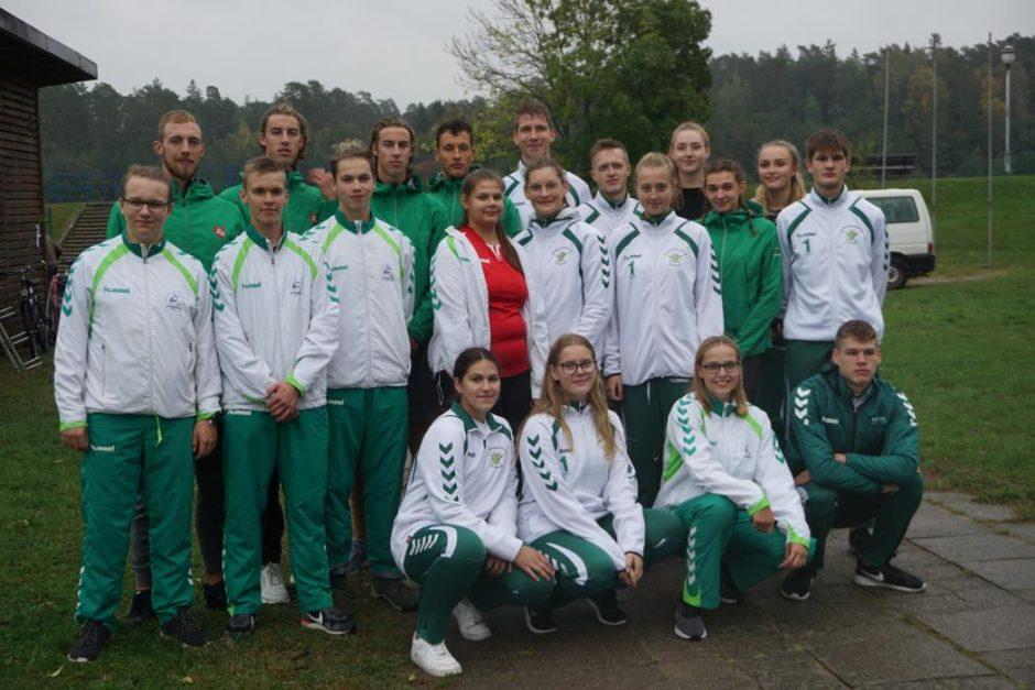 Į Europos irklavimo čempionatą irkluotojai palydėti Birštone