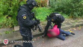 Dviejų grupuočių konfliktas baigėsi areštinėje (video)