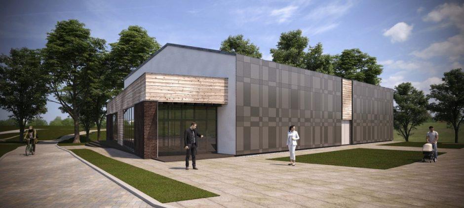 Tytuvėnuose naujas kultūros paskirties pastatas