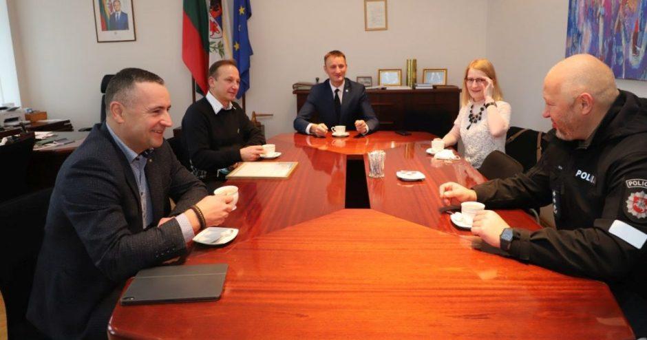 Šiaulių meras susitiko su generaliniu komisaru