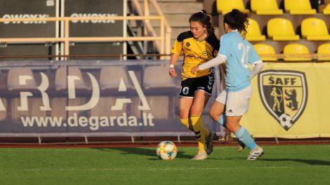 """""""Gintra-Universitetas"""" žengė į kitą UEFA moterų Čempionių lygos atrankos etapą"""
