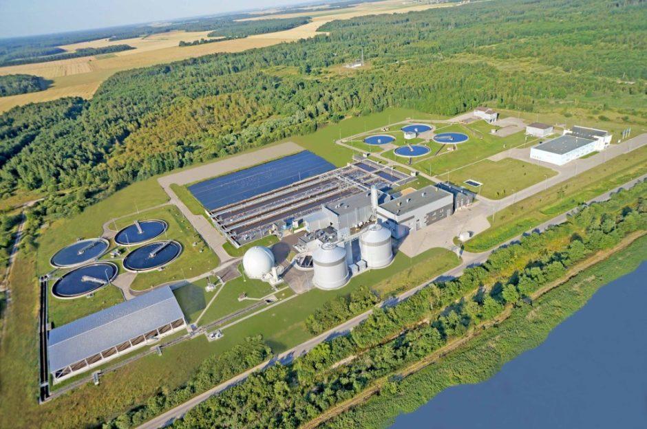 Šiaulių miesto nuotekų valykloje planuojama statyti saulės elektrinę