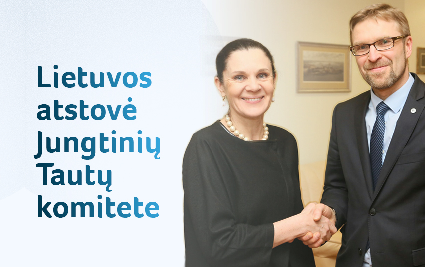 Profesorė Dalia Leinartė tęs darbą Jungtinių Tautų Moterų diskriminacijos panaikinimo komitete