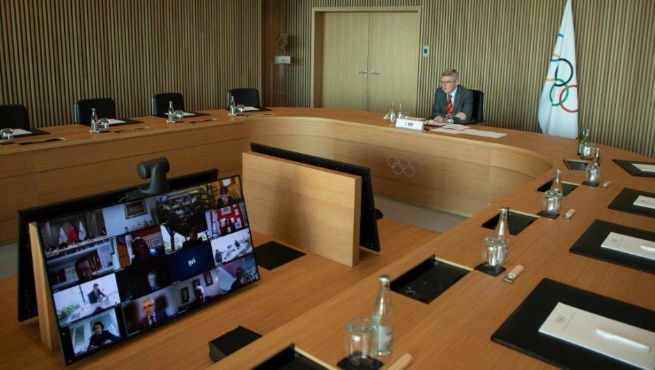 TOK vykdomojo komiteto posėdyje – diskusija apie saugumo priemones