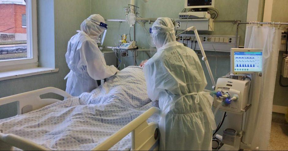Pavasarį įgytos žinios ir įgūdžiai padeda medikams kovoti su antrąja pandemijos banga