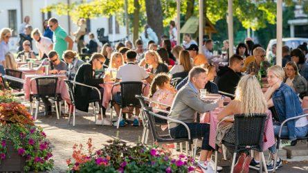 Vilniuje kitąmet keisis rinkliava už leidimus prekiauti lauko kavinėse