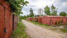 Vilniaus miesto savivaldybė pradėjo teisminį procesą dėl metalinių garažų